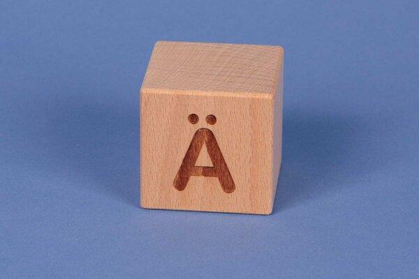 Letter cubes Ä positive