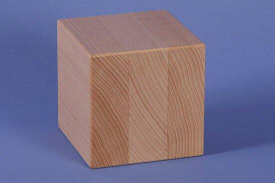 wooden cubes 9 cm