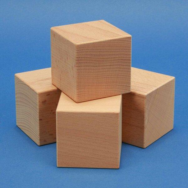 wooden cubes 2,5 cm