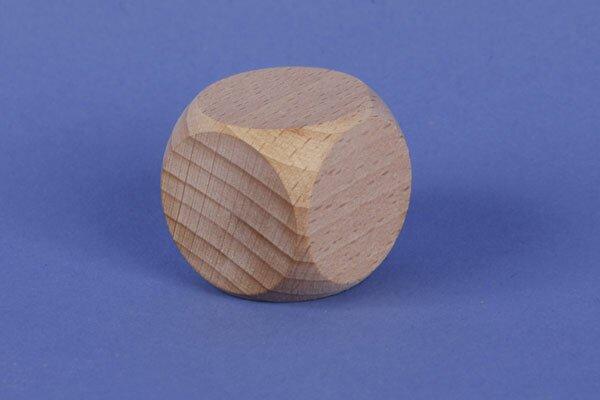 wooden dices 2,5 cm
