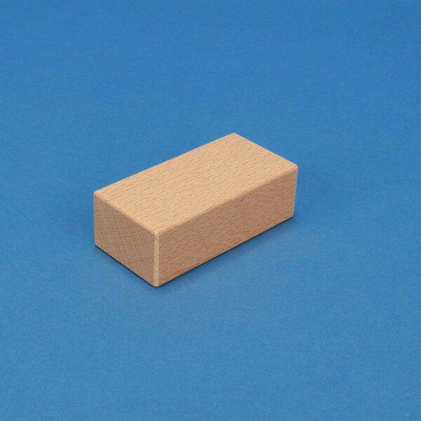 wooden stamp 9 x 4,5 x 3 cm