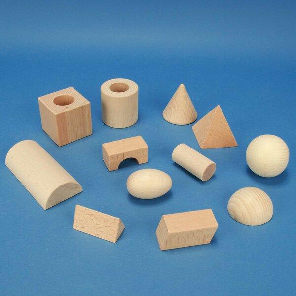 """half geometric solids school-class-set """"Klett"""""""