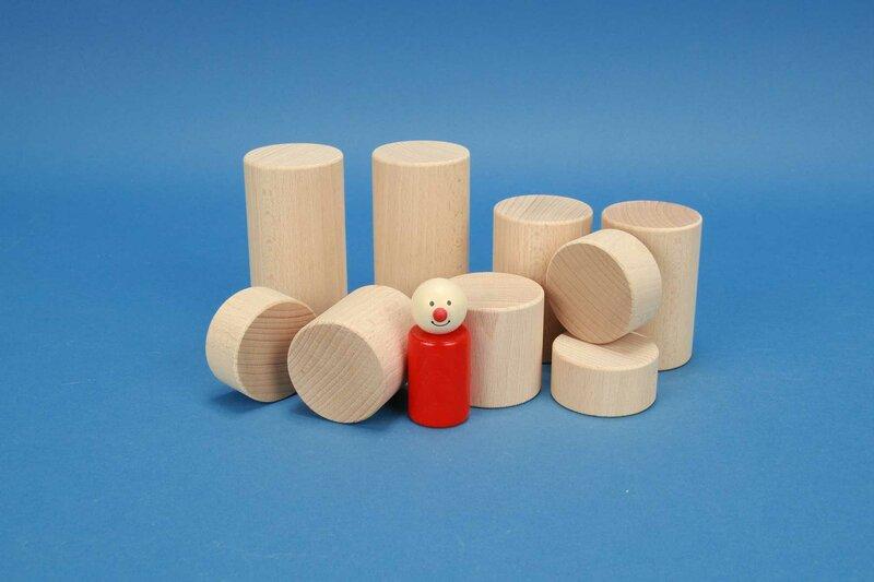 round wooden pillars Ø 5 cm
