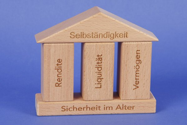 wooden blocks - Production to order