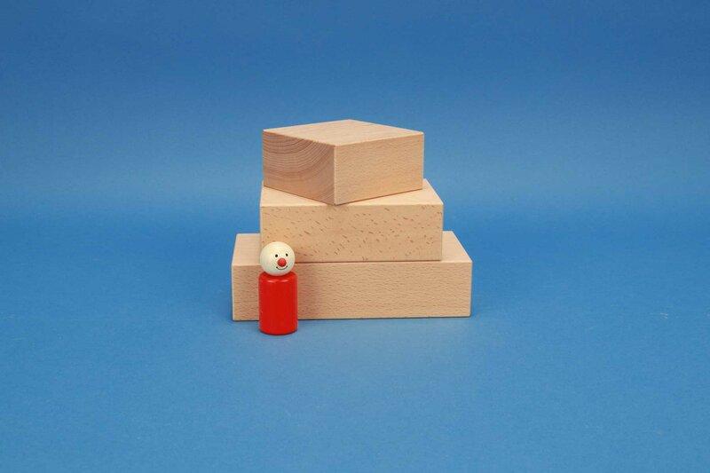 Large building blocks 9 x 4,5 cm