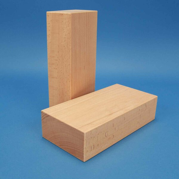 extra large wooden blocks 24 x 12 x 6 cm