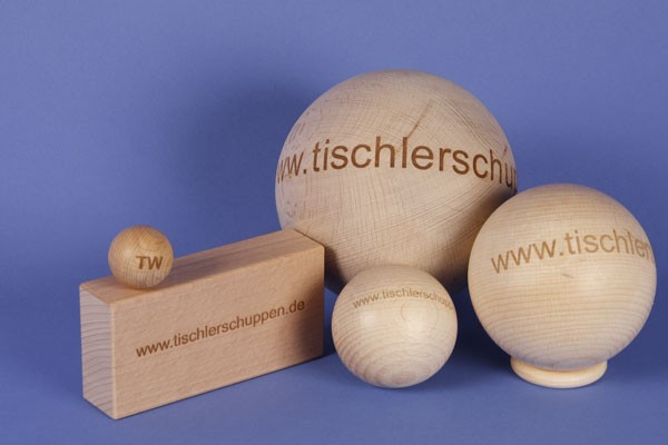 wooden balls production to order
