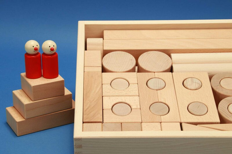 Fröbel wooden blocks sets