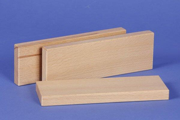 wooden building blocks 18 x 6 x 1,5 cm