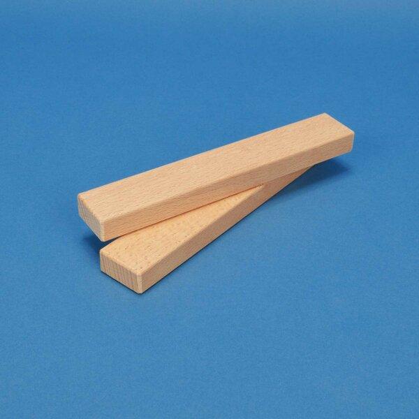 wooden building blocks 18 x 3 x 1,5 cm