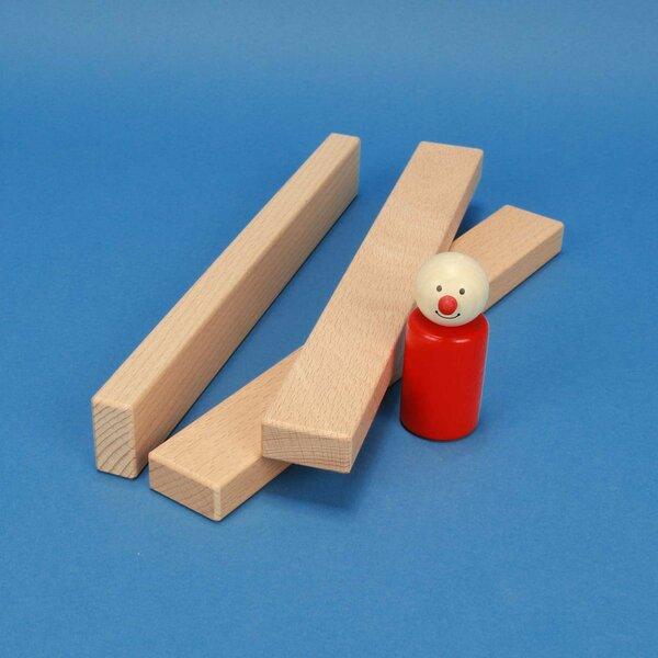 wooden building blocks 24 x 3 x 1,5 cm