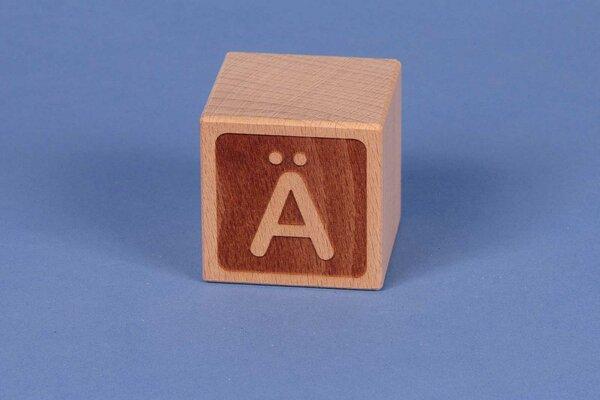 Letter cubes Ä negative
