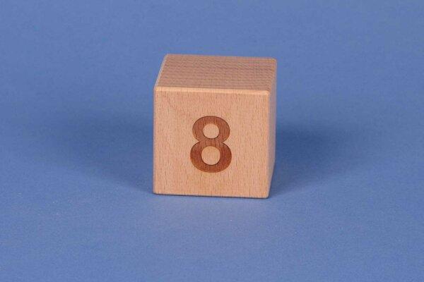 Letter cubes 8 positive