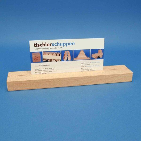 wooden blocks 36 x 6 x 3 cm single-slit