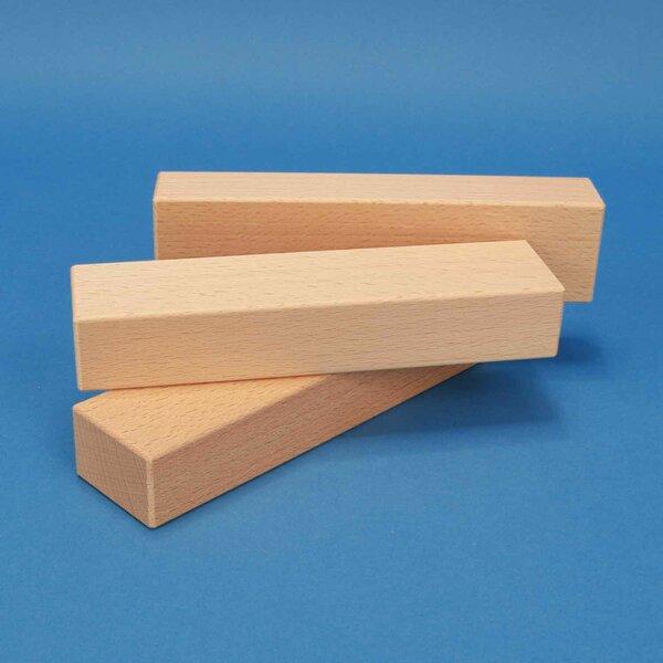 wooden blocks 18 x 4,5 x 3 cm