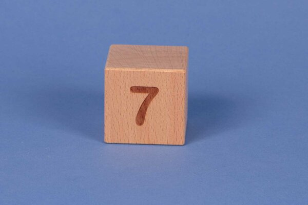 Letter cubes 7 positive