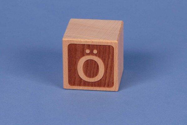 Letter cubes Ö negative