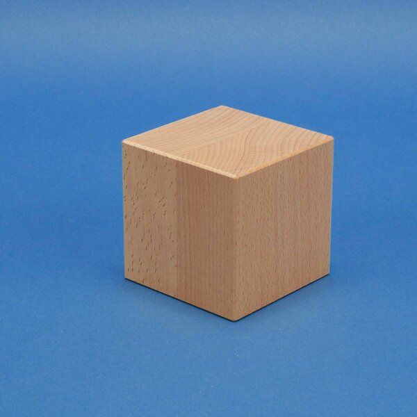 wooden cubes 8 cm