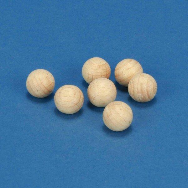 100 wooden balls/beads Ø 10 mm
