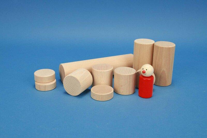 wooden cylinder Ø 4,5 cm