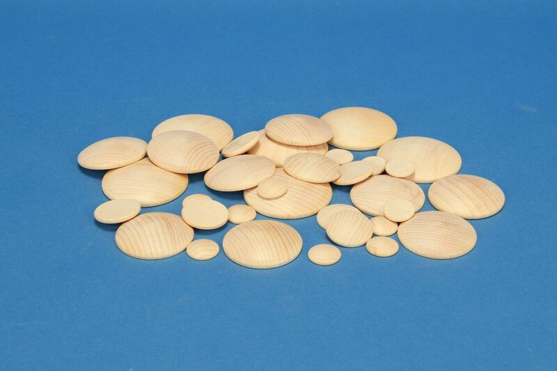 DIY-Wooden dome discs