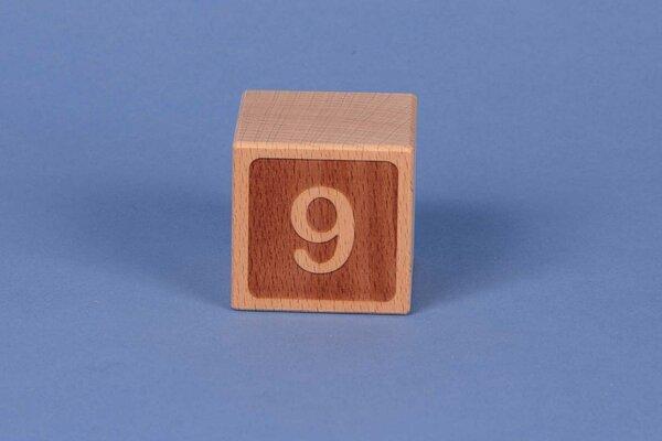 Letter cubes 9 negative