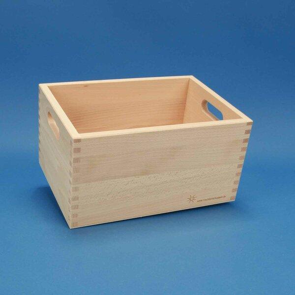 Beechwood box small without wooden blocks