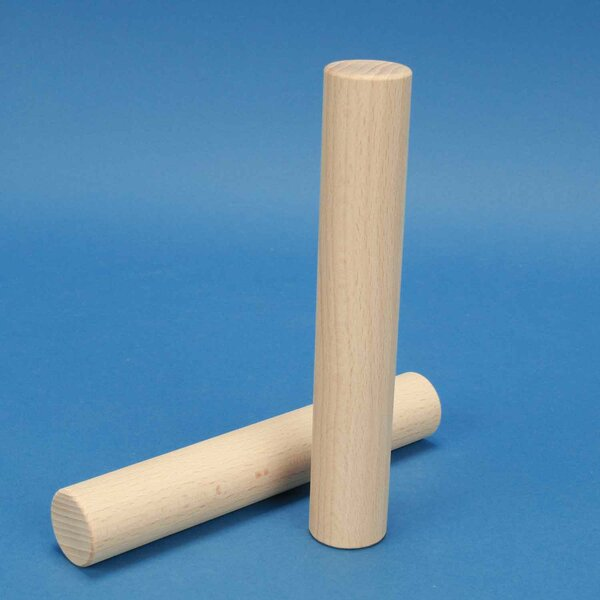 wooden blocks round pillars Ø 3 x 18 cm