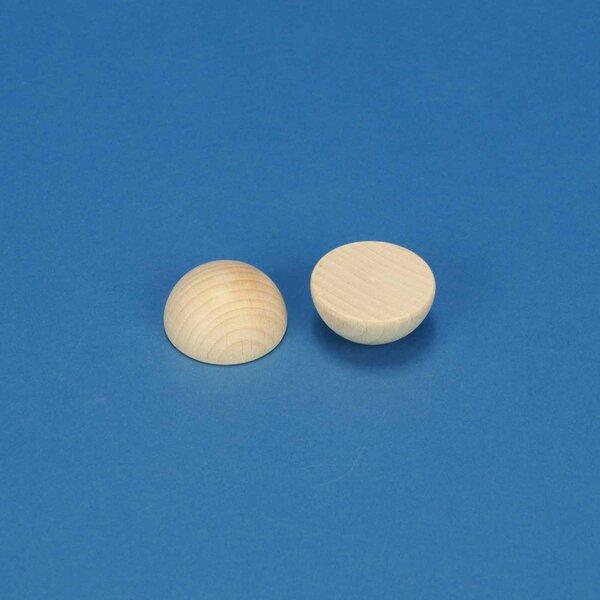 Half wooden balls beech Ø 40 mm