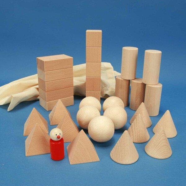 geometric solids schoolclass-set