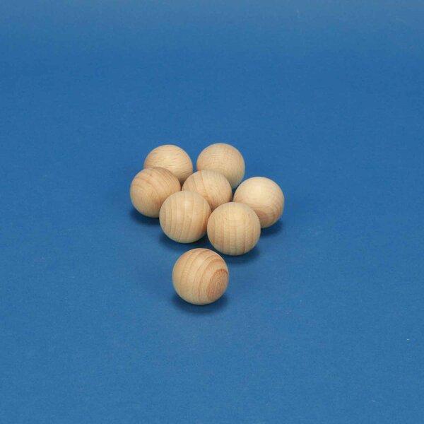 wooden balls beechwood Ø 30 mm
