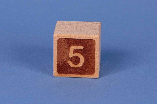 Letter cubes 5 negative