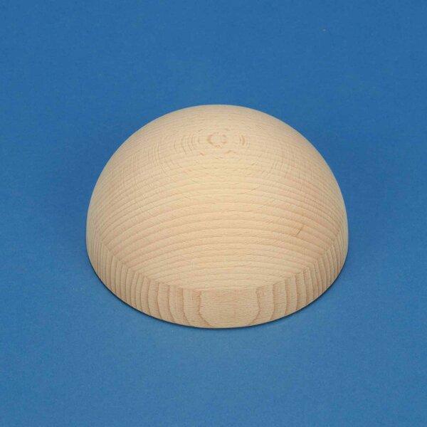 Half wooden balls beech Ø100mm