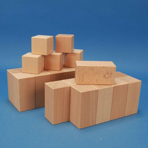 Wooden word blocks-Set - Beate Lessmann