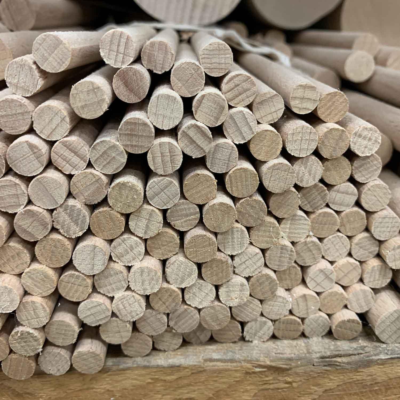 DIY-Wooden round rods
