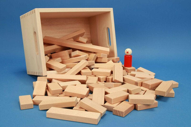 Sets of small building blocks