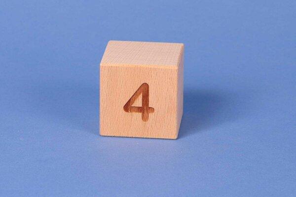 Letter cubes 4 positive
