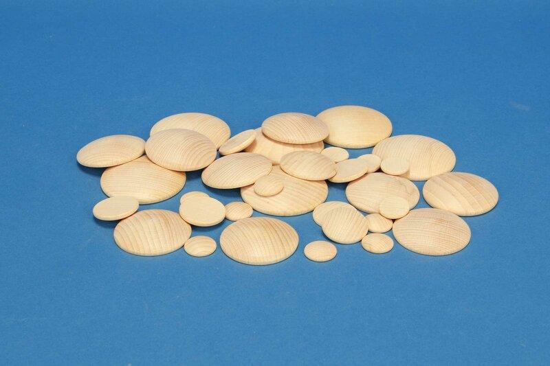 Wooden dome discs