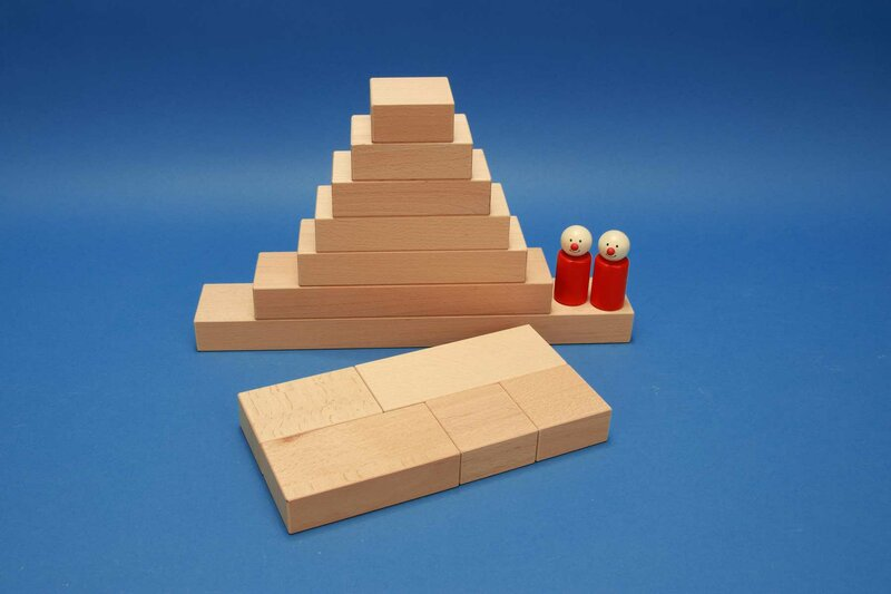 Fröbel wooden blocks single