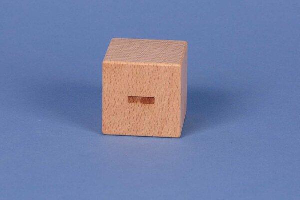 Letter cubes - positive