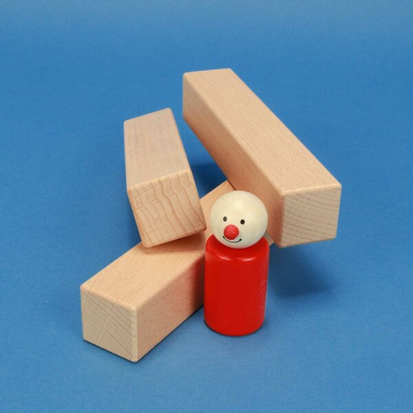 wooden blocks 15 x 3 x 3 cm