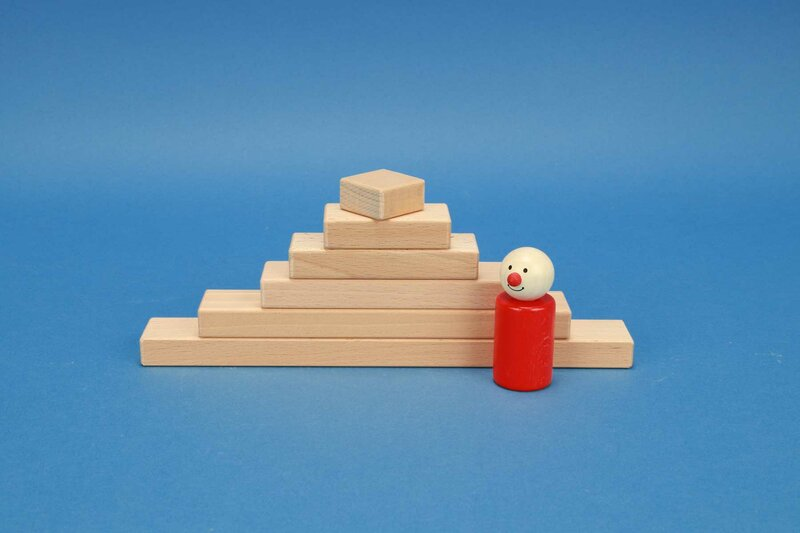 Small wooden blocks 3 x 1,5 cm