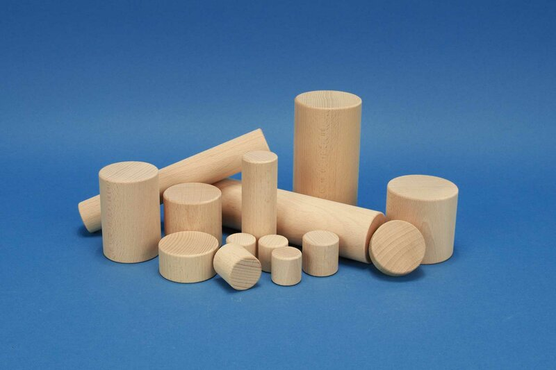 wooden cylinders