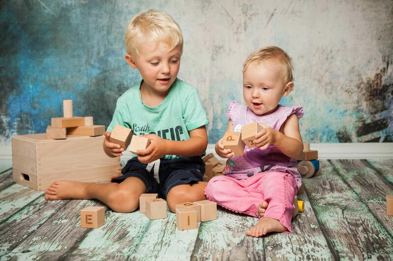 Wooden blocks for beginners