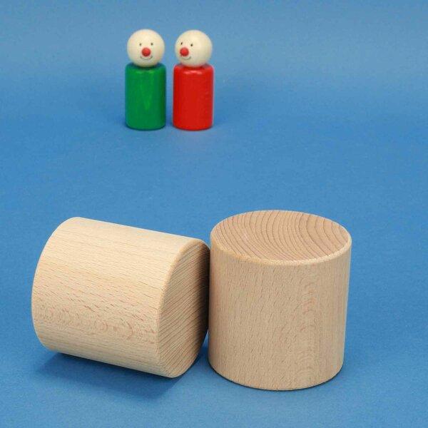 beechwood cylinder Ø 6 x 6 cm