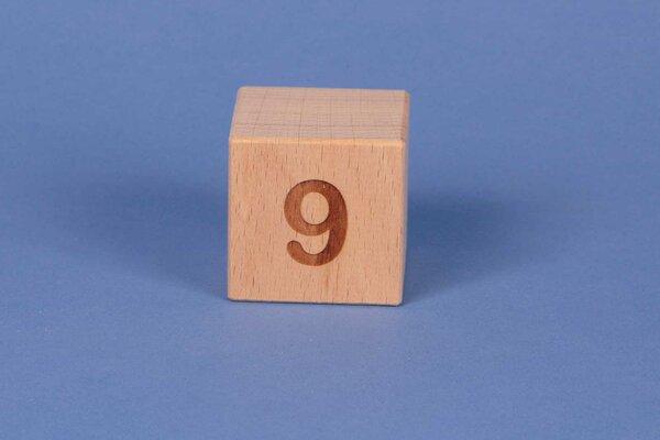 Letter cubes 9 positive