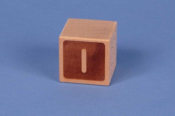 Letter cubes I negative