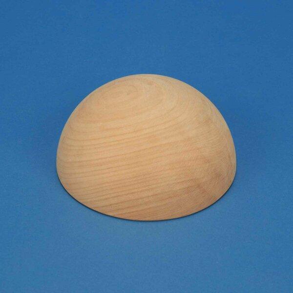 Half wooden balls of cherrywood Ø 150mm