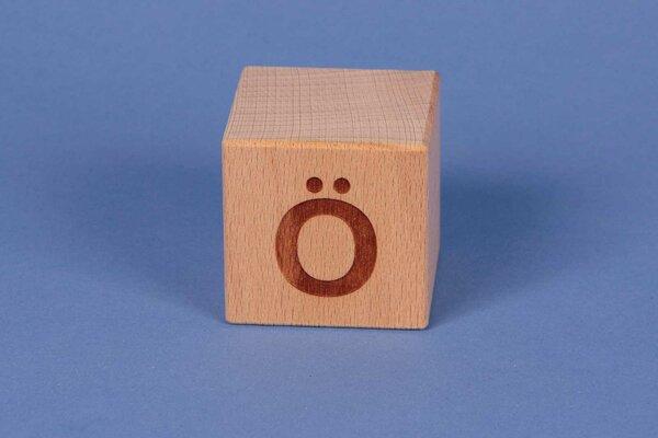 Letter cubes Ö positive