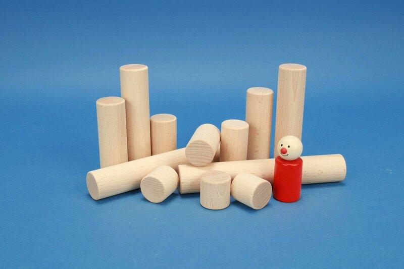 wooden cylinder Ø 3 cm